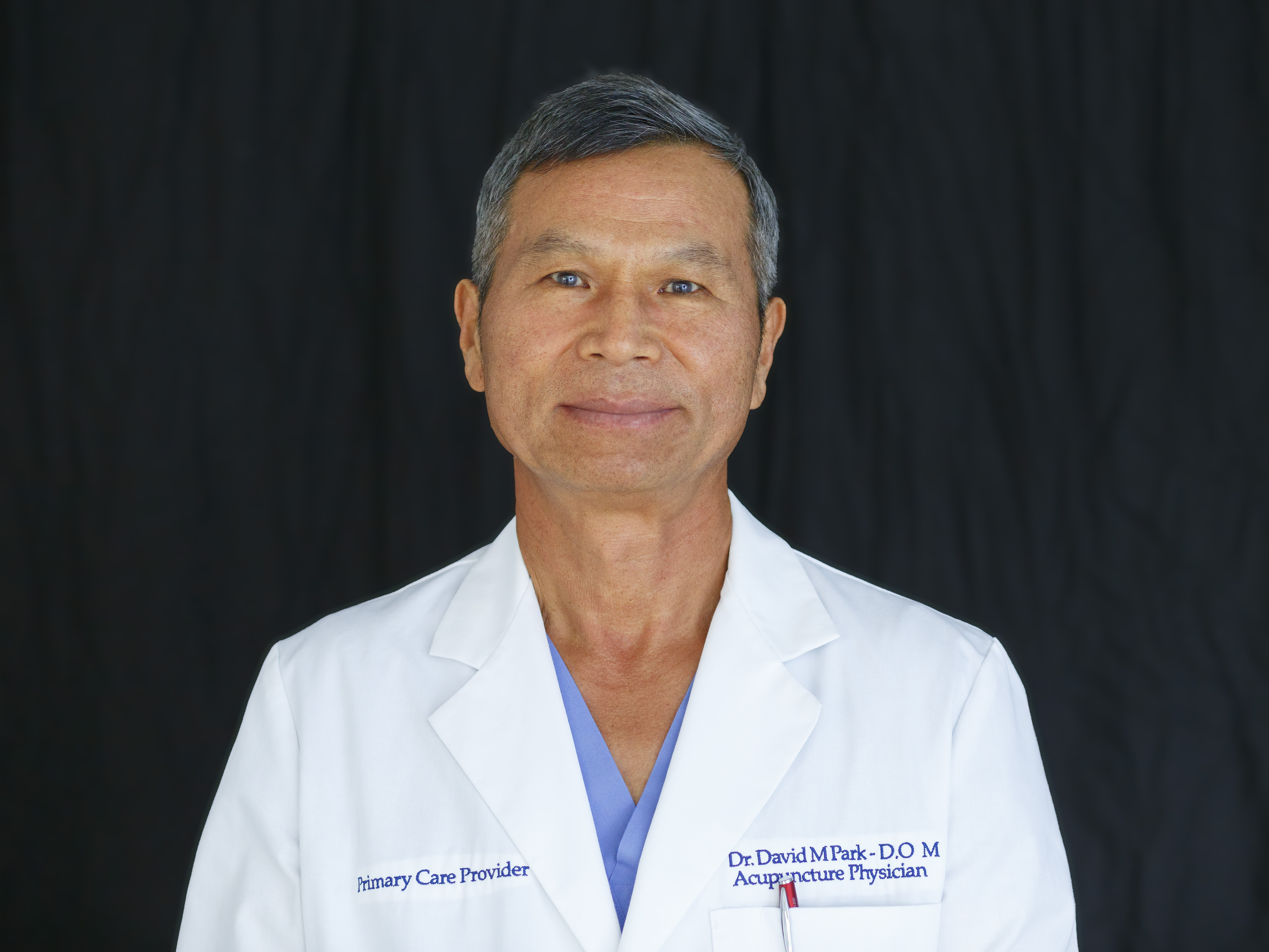 LICENSED ACUPUNCTURIST AP4705 Dr. David Park, AP, DOM, Acupuncturist